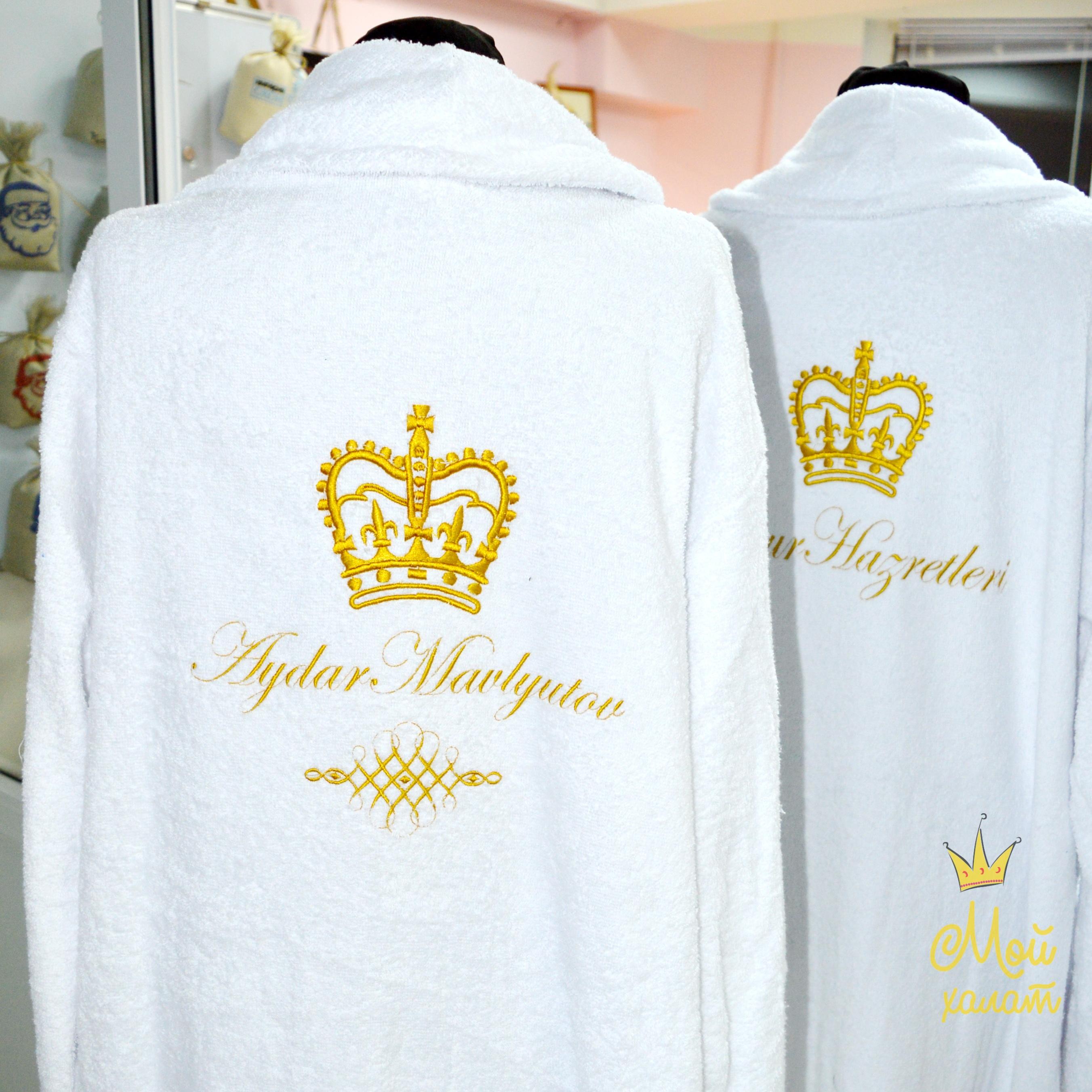 Халаты с именной вышивкой 1 в Беларуси. Халаты на заказ и красивой 70